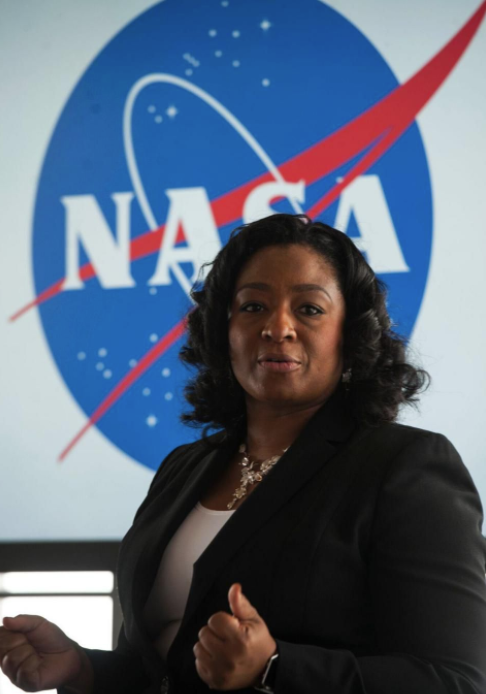 christyl johnson from nasa