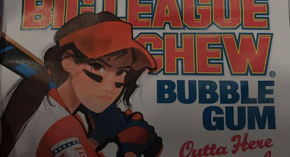 Big League-Chew Girl