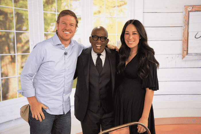Al Roker and the Gaines'