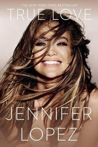 Jennifer Lopez Book Cover: True Love