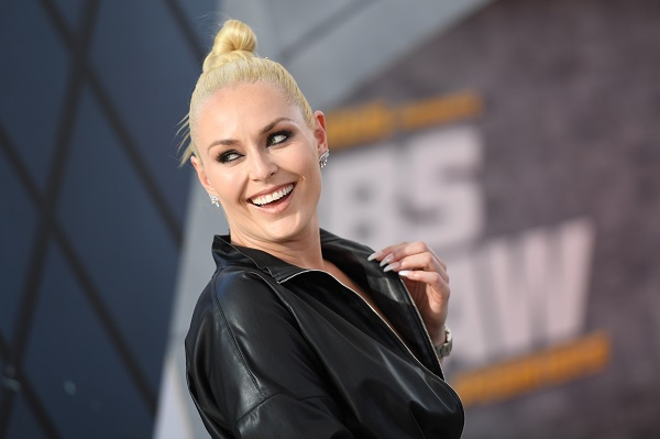 "US former alpine ski racer Lindsey Vonn attends the world premiere of ""Fast & Furious presents Hobbs & Shaw"