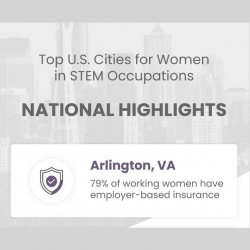 Top Cities for Women in STEM announcement